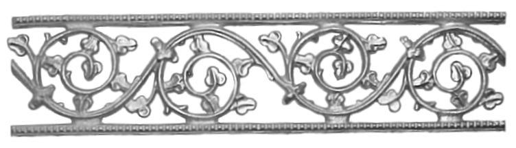 Clover Key Frieze