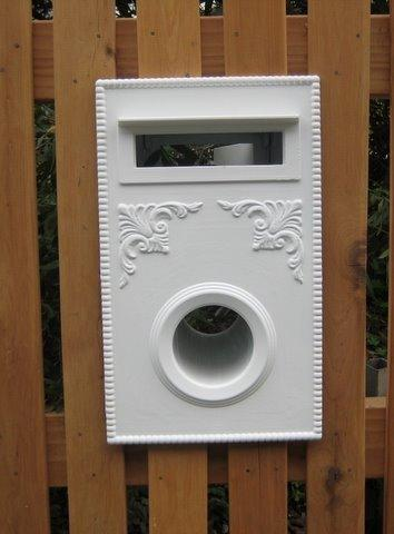 Brunswick Picket Letterbox Federation Design Incl Lock