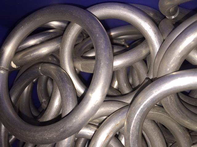 rings aluminium 10mm