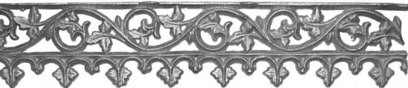 SANDSVILLE frieze