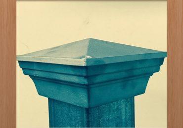 Classic Pyramid Style Post Caps – Non Rust Aluminium