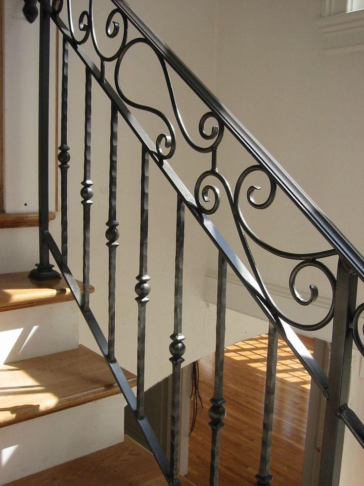 Wrought Iron Handrail 6-02- 50 x 14   Chatterton Lacework