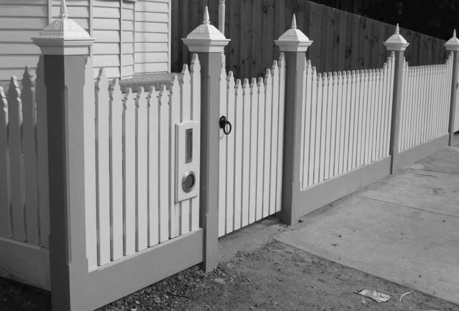white fence post. Aluminium Post Capital \u2013 How Do I Install To The Top Of Fence Post? White