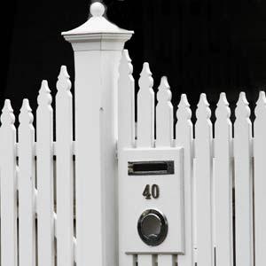 Picket Letterbox ... & Picket Letterbox Brunswick u2013 Federation Design incl.lock and key ... Aboutintivar.Com