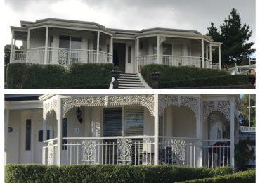 What a difference the heritage lace has made to this property.