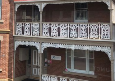 Hobart Heritage Balustrade and Lacework
