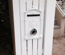 Australian Made all aluminium picket style letterboxes
