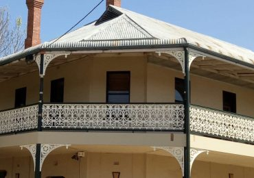 Avenel Harvest Home Hotel Lacework Balustrade Restoration